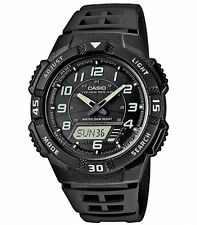 Casio Herrenuhr Uhr Solar Solaruhr 10 Bar Alarm Timer Resin AQ-S800W-1BVEF