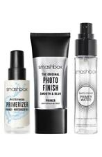 Smashbox Pack-Me Primer Trio Primer Water Primerizer & Photo Finish Primer New