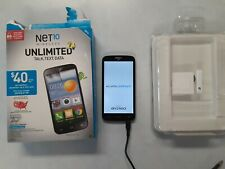 """Brand New NET10 Alcatel One Touch Pop Icon 5"""" 4GB Prepaid Android Phone"""