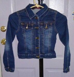 Toddler  Boys Girls  Blue Denim Trucker  Jacket   6 x