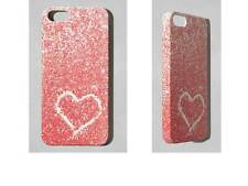 New in Box*** Abercrombie Apple iPhone 5 5S SE Cell Phone Heart Glitter CASE