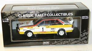 1/18 Audi Quattro A2  Audi Sport  Winners Rally Portugal 1984  H.Mikkola/A.Hertz