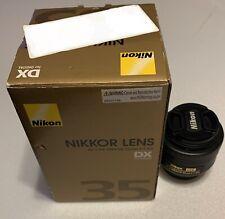 Nikon Nikkor Lens AF-S DX Nikkor 35mm f/1.8G