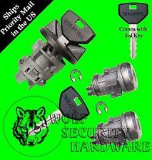 Dodge Ram Others Ignition Key Switch Lock Cylinder & Door Lock Set 3 Keys