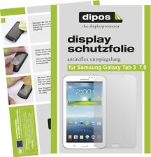 3x dipos Samsung Galaxy Tab 3 7.0 T210 Pellicola Prottetiva Antiriflesso