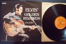 ELVIS PRESLEY GOLDEN RECORDS VOL1 orange label 1970 Lp
