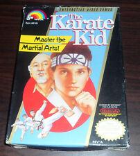 Nintendo NES. The Karate Kid. CIB (NTSC USA/CAN)