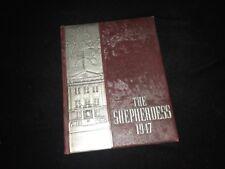 1947 Seton High School All Girls School Yearbook Shepherdess Baltimore Maryland