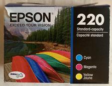 Epson DURABrite Ultra 220 Ink Cartridges - Black/Cyan/Magenta/Yellow EXP 12/2022