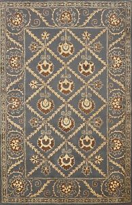 Traditional Geometric Assorted Oriental Area Rug Wool Hand-tufted Carpet 6'x8'