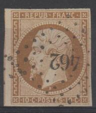 "FRANCE STAMP TIMBRE  9 "" LOUIS-NAPOLEON 10c  BISTRE 1852 "" OBLITERE TB   N597"
