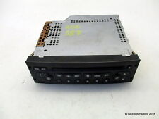 Cd Player Stereo-Needs Coding-02 Peugeot 206 1.4 hdi 5 door hatch ref.387