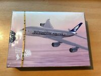 SINGAPORE AIRLINES - FIRST TO FLY A380  UN OPENED PLAYING CARDS - MINT CONDITION