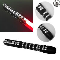 YDD Star Lightsaber Wars Replica Force FX Heavy Dueling Red Blade Metal Handle