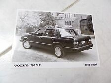 foto de prensa Volvo 760 GLE Modelo 1988 press foto