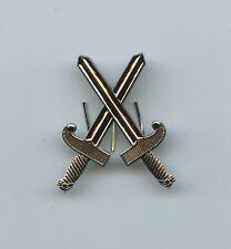 Belgian Army Crossed Sword Badge