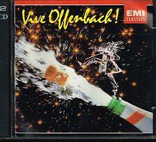 CD album: Jacques Offenbach: vive Offenbach. EMI 2cds. C1.