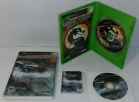 Mortal Kombat Deception Kollector's Edition Microsoft Xbox Game CIB With Card