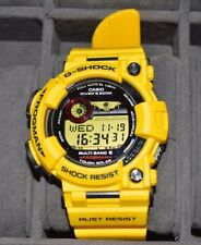 Casio G Shock frogman Yellow 30th Rare Auth New Men's Watch GWF-T1030E-9