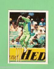 1982 SCANLENS CRICKET STICKER #7  IMRAN KHAN, PAKISTAN
