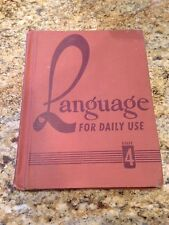Language For Daily Use Grade 4