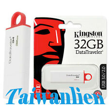 Kingston 32GB DataTraveler DT G4 USB 3.0 Flash Pen Key Drive Memory Stick Thumb