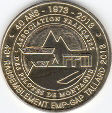 05 TALLARD PILOTES DE MONTAGNE MÉDAILLE MONNAIE DE PARIS JETON TOKEN MEDALS