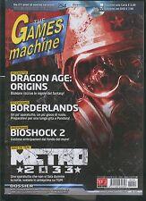 tgm 254 the GAMES MACHINE-dragon age origins-borderlands-bioshock2-metro2033