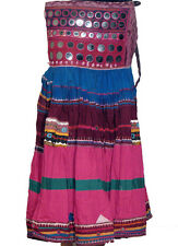 Belly Dance Costume Dress Gypsy Ethnic Banjara Skirt M