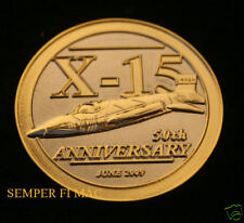 50TH ANNIVERSARY X15 NASA AMES CHALLENGE COIN EDWARDS AFB US AIR FORCE TEST PILO