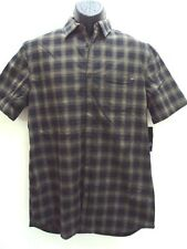 NEW FOX RACING MEN OTTO WOVEN PLAID CASUAL SHIRT LARGE 09640 J-90 RETAIL $54.50