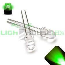 10 x LED 5mm Pure Green Slow Flashing Blinking Strobe Ultra Bright LEDs 1Hz PC
