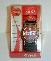 Vintage 1999 Coca-Cola Soda Pop Bottle Quartz Watch w/ Light Up Dial New In Box