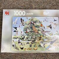 Jumbo 1000 PIECE JIGSAW Puzzle Bird Collage PUZZLE Eke Van Mansvelt