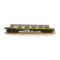 Graham Farish 377-604 N Gauge BR Railfreight Metals BDA Bogie Bolster Wagon