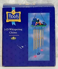 Pooh 100 Acre Collection 3-D Whispering Chime Wind Chimes Pooh & Friends w/ box