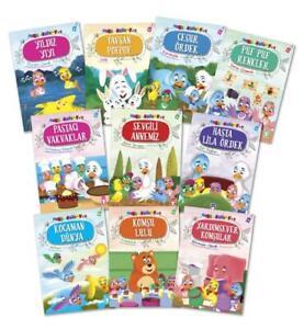 Mini Masallar 4, 10 Cocuk Kitabi, Yeni Masal Kitaplari, Kitap Türkce, Set