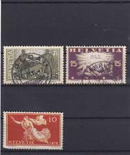 Schweizer Bundespost-Briefmarken (bis 1944) als Satz