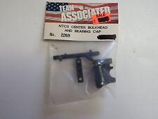 TEAM ASSOCIATED - NTC3 CENTER BULKHEAD AND BEARING CAP - Model # 2269