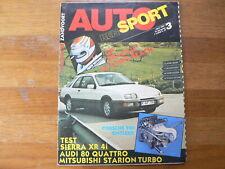 AUTO RENSPORT 1983-03 GRAND PRIX  BRASIL,LONG BEACH,PORSCHE 956,RENAULT 5 ALPINE