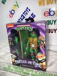 TMNT NECA Teenage Mutant Ninja Turtles In Time Donatello New Don