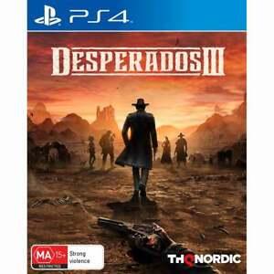 Desperados 3 III PS4 PlayStation 4 New Sealed AU