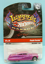 2365 HOT WHEELS / CARTE US / HARRY'S GARAGE 2009 / PURPLE PASSION 1/64