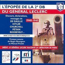 1940 - 1945 L'épopée de la 2ème DB [CD] Général Leclerc (1290)