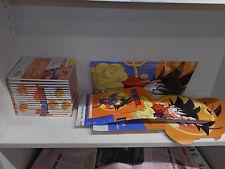 DVD-DRAGON BALL-1/21-COMPLETA-+ BOX E POSTER-CORRIERE DELLA SERA-SIGILLATI--Z35