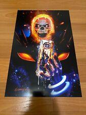 Greg Horn Comic Art Print Ghost Rider Cosmic USA Marvel Comics 11x17 Rare