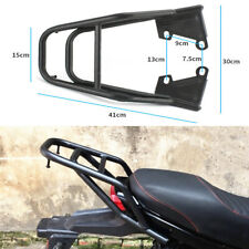 Motorcycle Rear Rack Seat Travel Luggage Bracket For Shoes Helmets Tail Case Box