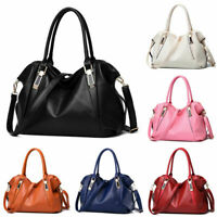 Women PU Shoulder Handbag Ladies Tote Messenger Satchel Crossbody Hobos Purse