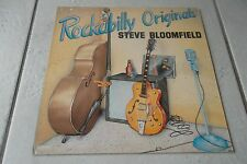 STEVE BLOOMFIELD ROCKABILLY ORIGINALS LP DUTCH 1978