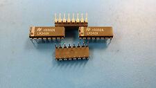 (4 PCS) LM346N NATIONAL SEMICONDUCTOR OP Amp Quad GP ±22V 16-Pin PDIP